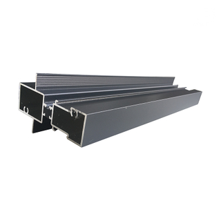 Broken Bridge Aluminum Extrusion Profiles Price Per Kg for DT82 Series Sliding Doors
