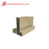 Off-white Aluminum Oxide Powder Coating Aluminum Window Frame Part Profiles for Philippine Market