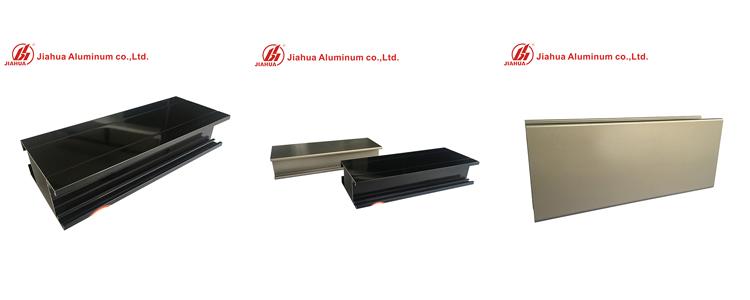 Electrophoresis Aluminm profiles