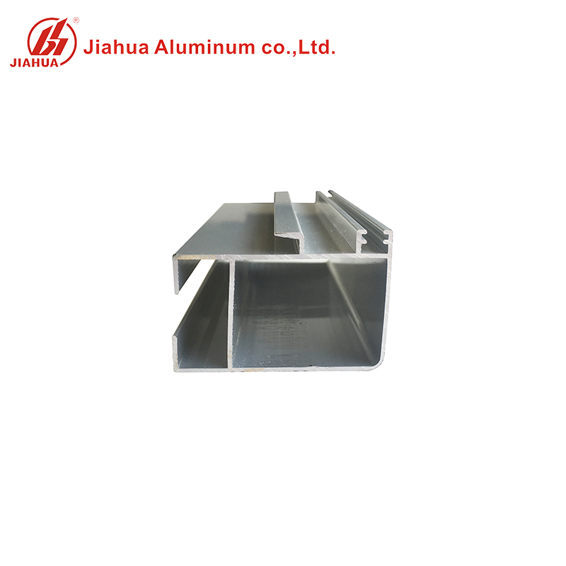 Rectangular Extrusion Aluminum Door And Window Tube Profiles for Single Glass