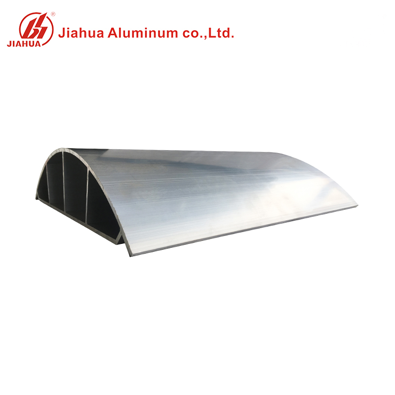 Special Custom Oval Arc Aluminium Heat Sink Profiles for Different Use