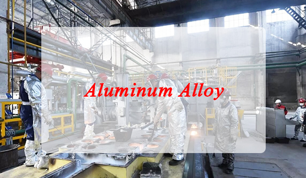 How comes the characteristic of aluminum alloy?