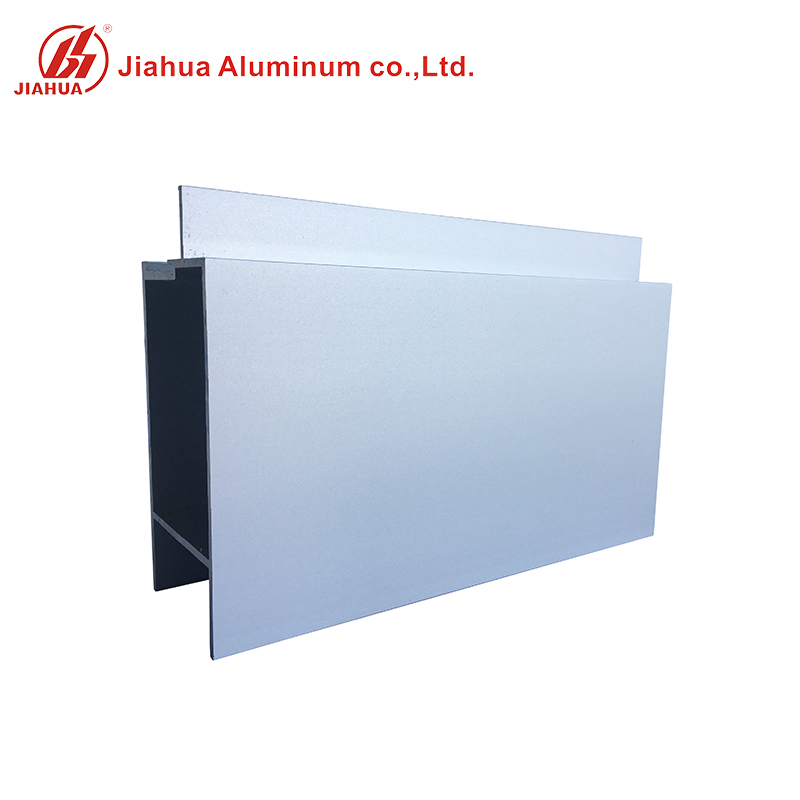 Anodized Aluminum Fix Frame Window Mullion Profiles for Glass
