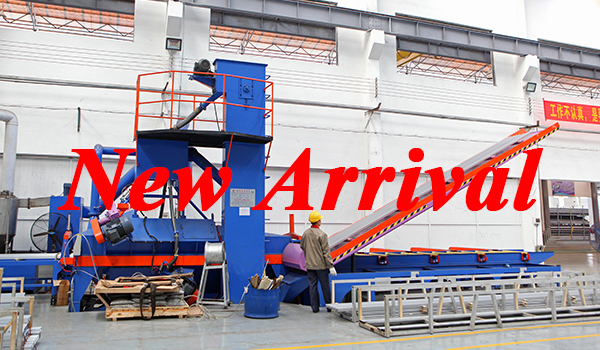 Good new! Jia Hua adds a new sand blasting machine