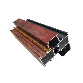 Mullion Aluminum Extrusion Profiles with Thermal Break Strucutre for Casement Windows And Doors