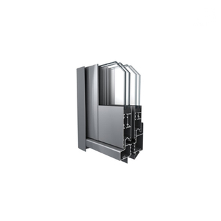 Thermal Break 6063 T5 Alloy Commercial Aluminium Extrusion Sliding Doors And Windows Supplier in China