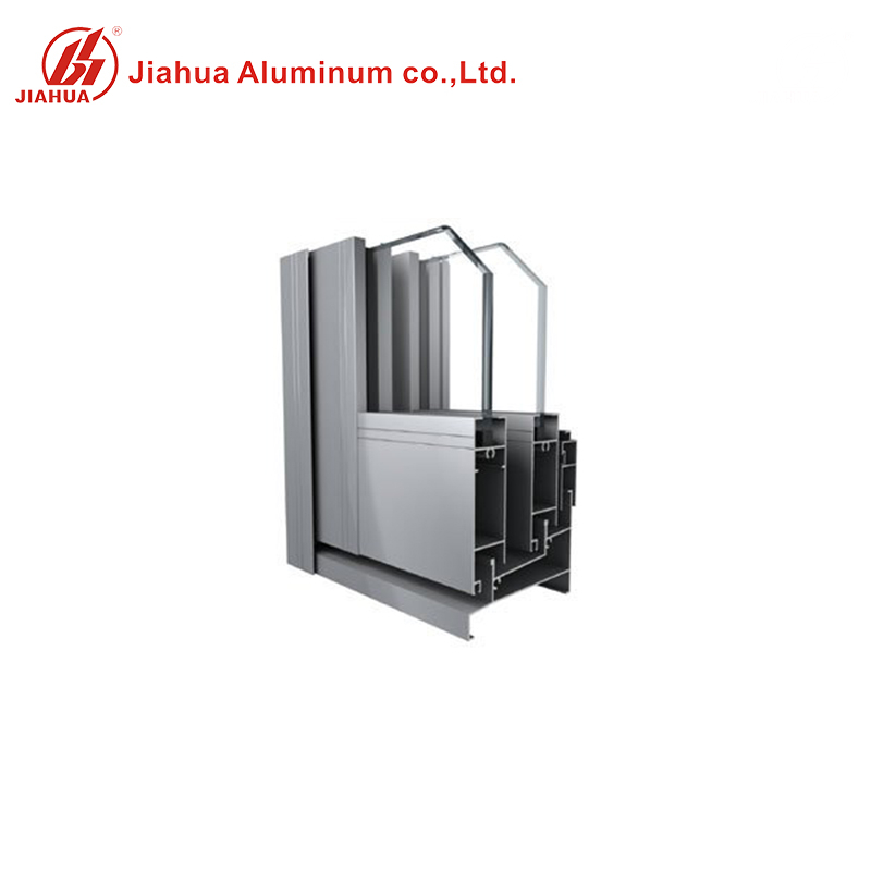 Soundproof aluminum house use Sliding window system with window screen