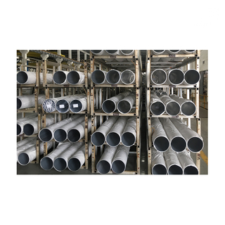 Jia Hua 3000t Big Aluminum Round Pipe Extrusion Tube Profiles with Customized Size